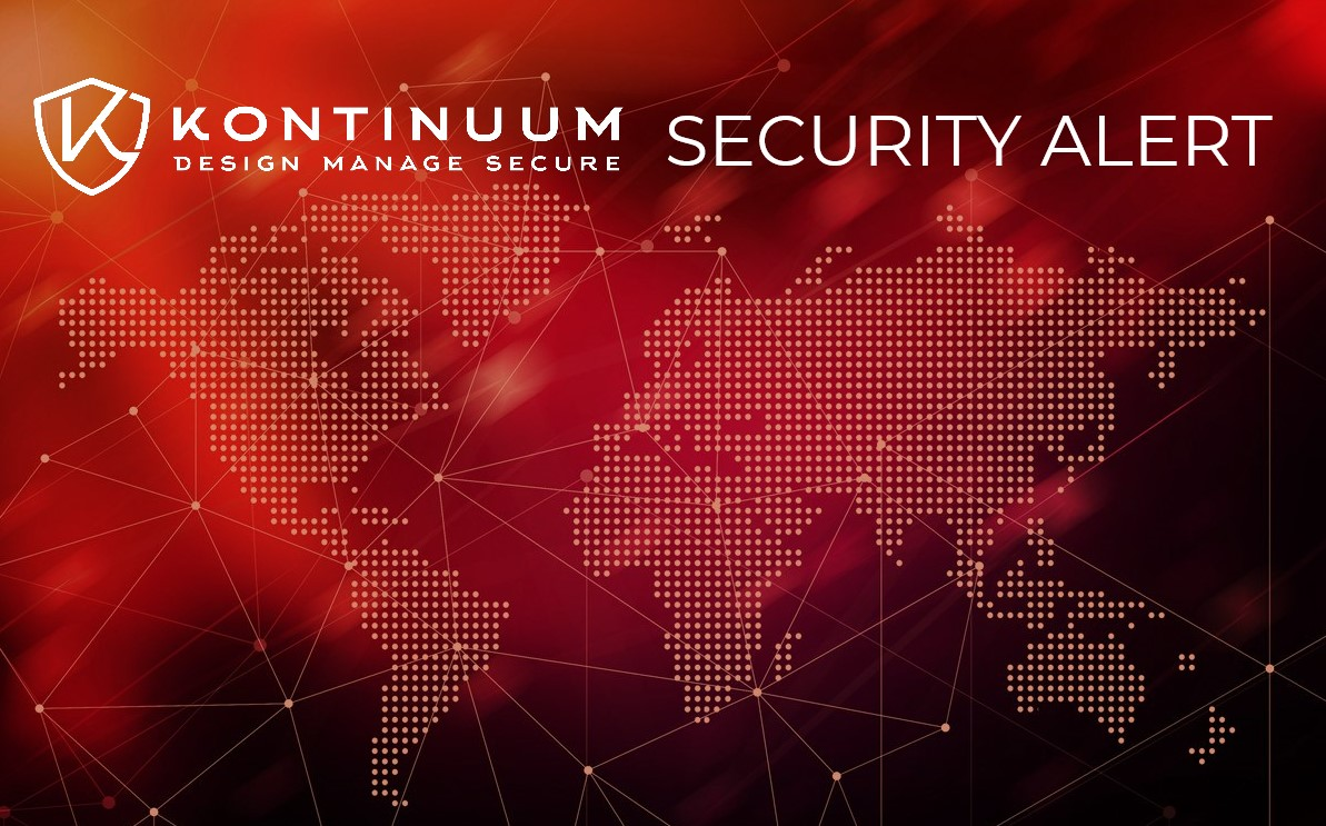 Kontinuum Security Alert